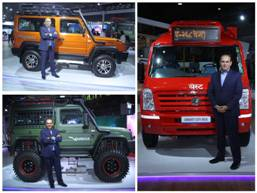 Force Motors unveils 3 platforms and launches 7 variants at Auto Expo 2020