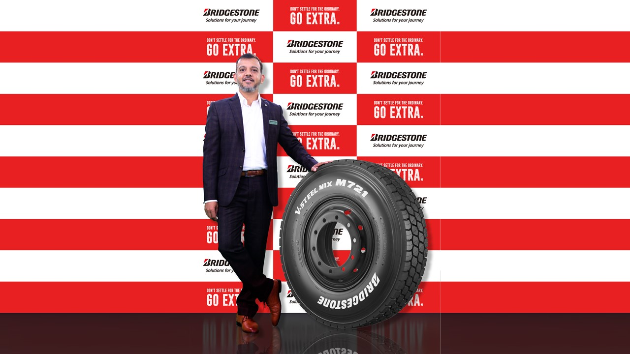 Bridgestone India unveils new tyre V-STEEL Mix M721 for CVs