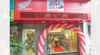 Honda 2Wheeler opens 100th Best Deal outlet