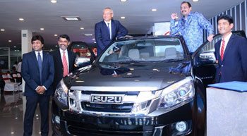ISUZU D-MAX V-Cross launched in Rajasthan
