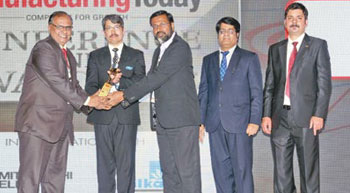 Award for Manufacturing Excellence