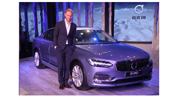 Volvo S90 launched Rs 53.5 lakh
