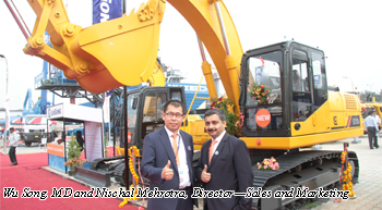 LiuGong India releases new excavator and compactor models