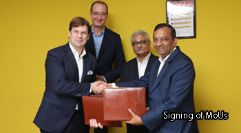 Mahindra, Ford sign 5 MoUs for development of key projects