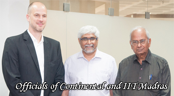 Germany's Continental ropes in IIT Madras for safe mobility solutions