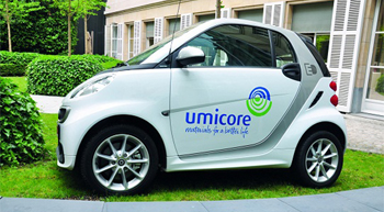 Umicore to build EV battery materials plant in Poland
