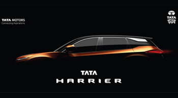 Tata Motors names soon to be launched SUV as Tata Harrier