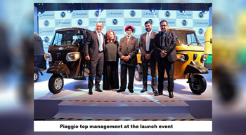 Italy's Piaggio rolls out 2.5 millionth small commercial vehicle in India