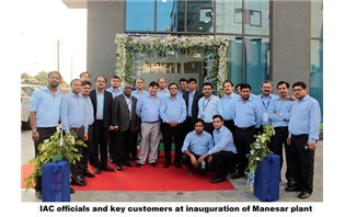 International Automotive Components opens new Manesar plant
