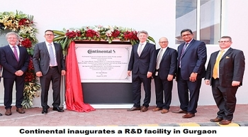 Germany's Continental opens R&D facility in Gurgaon