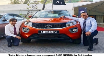 Tata Motors launches compact SUV NEXON in Sri Lanka