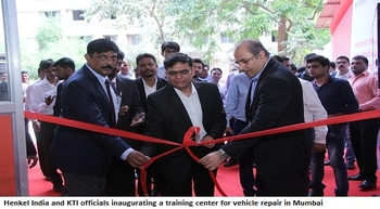 Henkel and KTI launch training center for vehicle repair in Mumbai