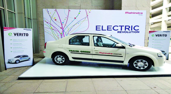 Mahindra Logistics introduces EVs for employee commute