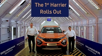 Tata Motors rolls out first Tata Harrier from new assembly line in Pune