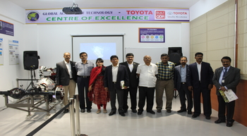 Toyota Kirloskar's new centre of excellence in Bengaluru