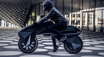 BigRep unveils world's first fully 3D-printed E-Motorcycle