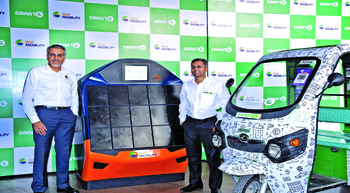 SUN Mobility, SmartE tie-up for EV charging solution