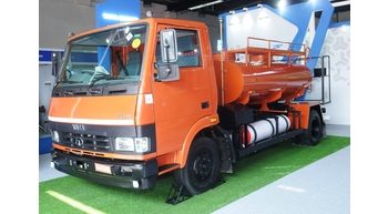 Tata Motors displays products for waste management at Clean Tech Environment