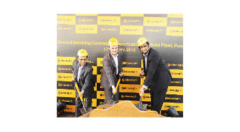 Continental breaks ground for new powertrain plant in Pune