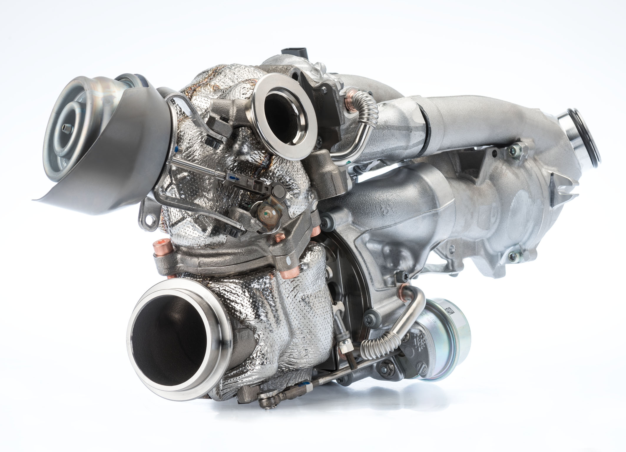 Mercedes-Benz 4-cylinder diesel engine to use BorgWarner's R2S® Turbocharger
