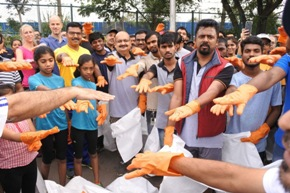 Continental India organises Plogging Drive with NGO UnitedWay
