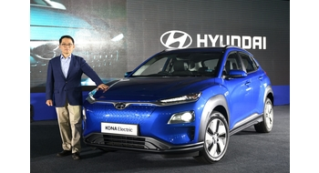 Hyundai unveils Kona Electric, India's first fully electric and long range SUV