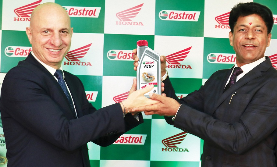 Honda 2Wheelers and Castrol India ink strategic partnership pact