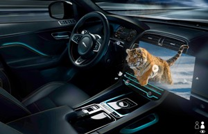Jaguar Land Rover develops 3D display technology for driver safety and entertainment