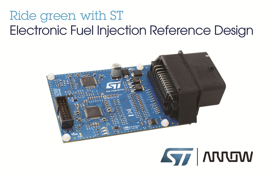 STMicroelectronics, Arrow Electronics to provide EFI reference design compliant with BS VI norms