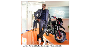 Innolia Energy to launch electric bike in 2020
