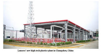 Germany's Lanxess opens high-tech plastics plant for automotive industry in China