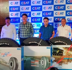 CEAT launches the X3 series tyres for trucks, contains five types