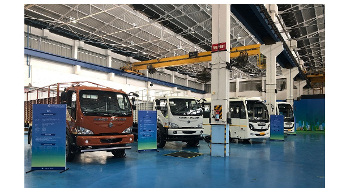 Ashok Leyland showcases BS VI trucks and buses