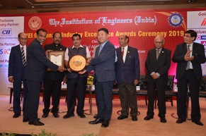 Hyundai Motor India Limited bags IEI Industry Excellence Award 2019