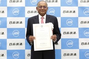 TVS Motor Chairman Venu Srinivasan wins Deming Award for TQM contributions