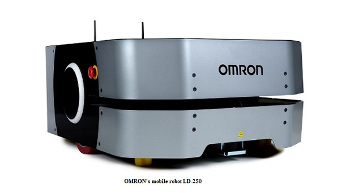 OMRON's LD-250 mobile robot capable of moving payloads up to 250 kg launched