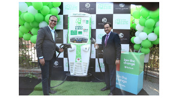 MG Motor and Fortum installs first public 50 kw dc fast charging station in Gurugram