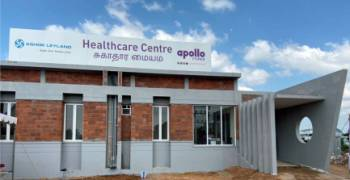 Ashok Leyland and Apollo Tyres collaborate to open driver Healthcare Centre