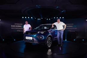 Tata Motors launches electric SUV Nexon EV