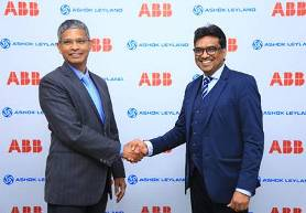 ABB Power Grids and Ashok Leyland to jointly develop fast charging electric buses