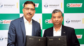 Renault and Castrol India enter a strategic partnership