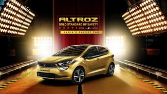 Tata Altroz receives Global NCAP 5-star adult safety rating