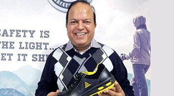 Warrior has changed the way India looks at safety shoes