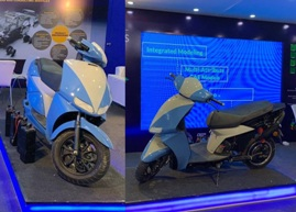 DEP showcases E-Scooter Technology at Auto Expo 2020