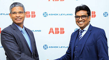 ABB Power and Ashok Leyland to jointly develop fast charging electric buses
