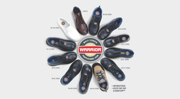 Liberty's new LibGuard insole shoes offers acupressure and no sweat features