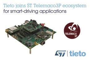 Tieto and STMicroelectronics accelerates development of automotive CCU