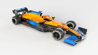 AkzoNobel provides coating expertise to McLaren's new Formula 1 car, the MCL35