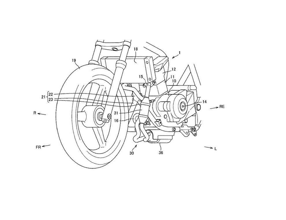 Suzuki patents new 250cc engine