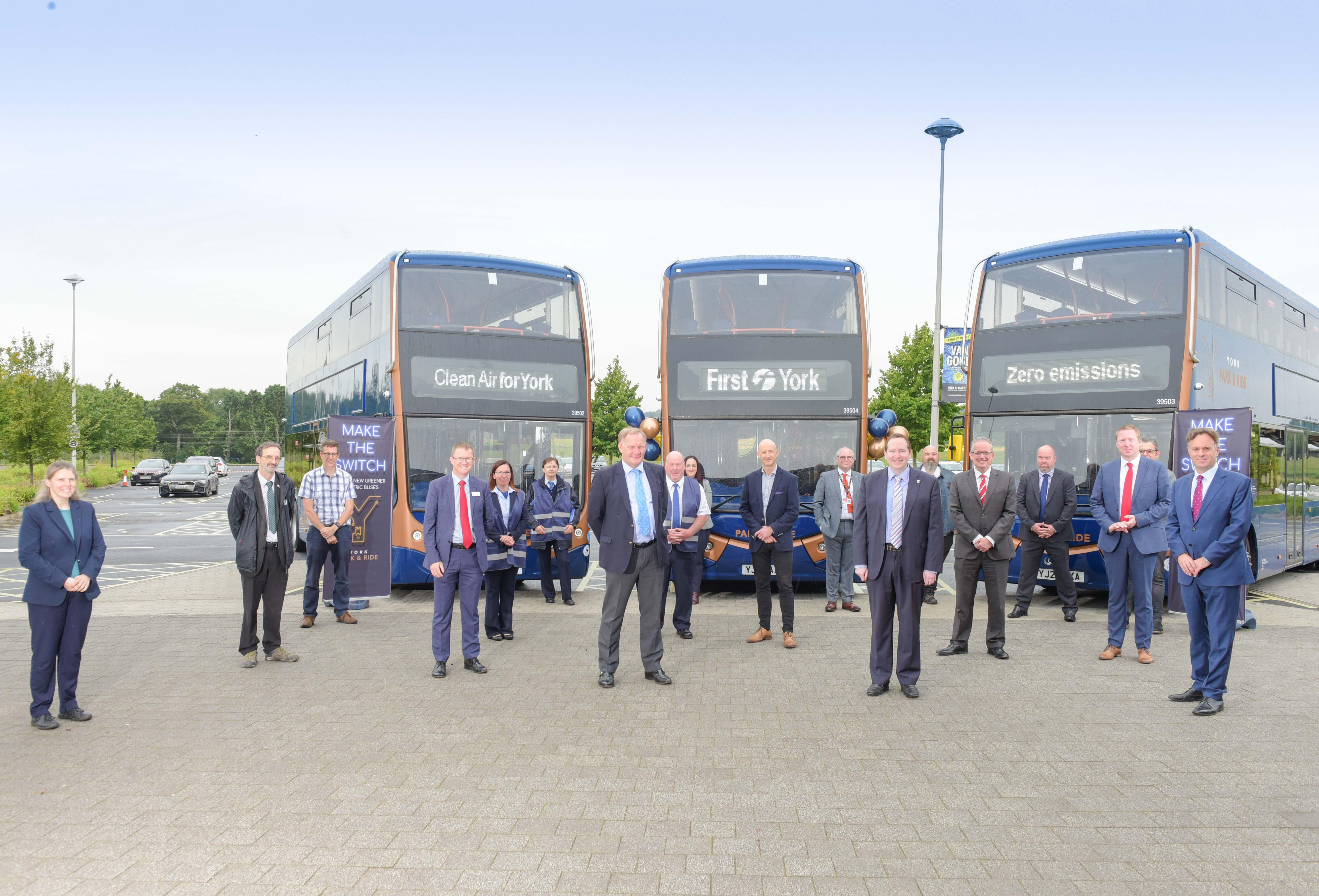 Ashok Leyland subsidiary Optare delivers 21 battery EVs to UK based First York